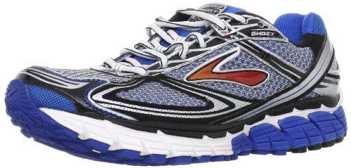 Brooks Ghost5 M 1101191D068, Herren Sportschuhe - Running, Blau (Blue/Black/Silver), 41 EU / 7 UK (Brooks Ghost Laufschuhe 7)