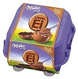 Geschenkidee Schokolade - Milka- Löffel-Ei mit Kakaocrème-Füllung