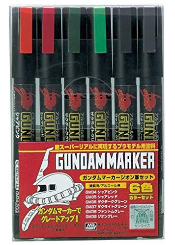 Gundam Marker Zeon Set of 6 (Zaku) -