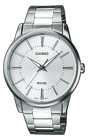 Casio Collection – Herren-Armbanduhr mit Analog-Display und Edelstahlarmband – MTP-1303PD-7AVEF
