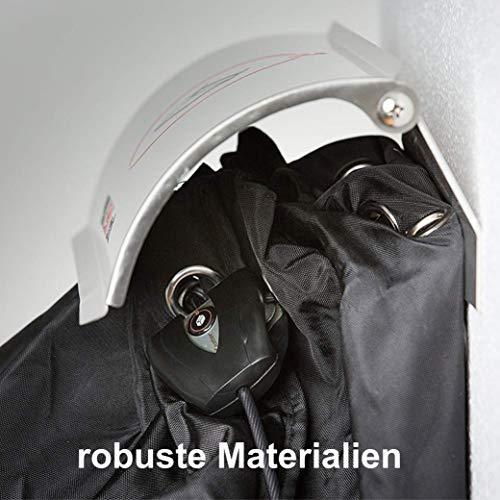 PAKETSAFE – platzsparender Paketsack mit hochwertiger Edestahloptik, silber - 7