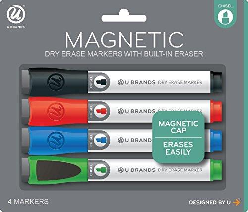 u-marcas-bajo-olor-marcadores-de-borrado-en-seco-magnetico-con-gomas-de-borrar-punta-cuadrada-varios