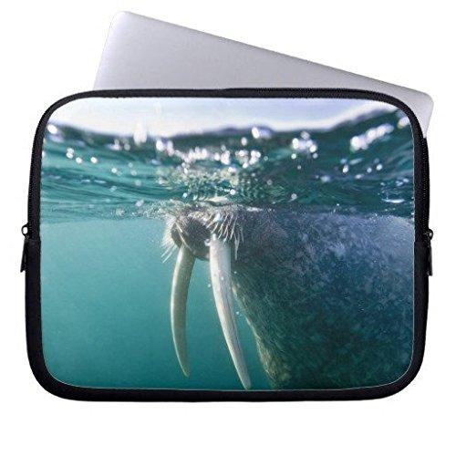 geordiet Walrus Schwimmen bei Wasser Wasserdicht Neopren Laptop Computer Ärmel 38,1cm