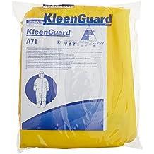 KleenGuard 96760A71Traje de protección contra productos químicos de pulverización, Mono con capucha, amarillo (10unidades)