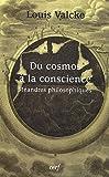 Du cosmos à la conscience : Méandres philosophiques