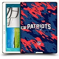 Ufficiale NFL Camou New England Patriots Logo Cover Retro Rigida per Samsung Galaxy Tab S 10.5