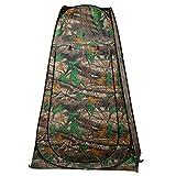 Befied Pop-up Zelt Portable Duschzelt, Umkleidezelt, Toilettenzelt für unterwegs, Camping inkl. Tasche (Typ 2)