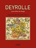 Coffret Deyrolle : Leçons de choses Tome 1 et 2