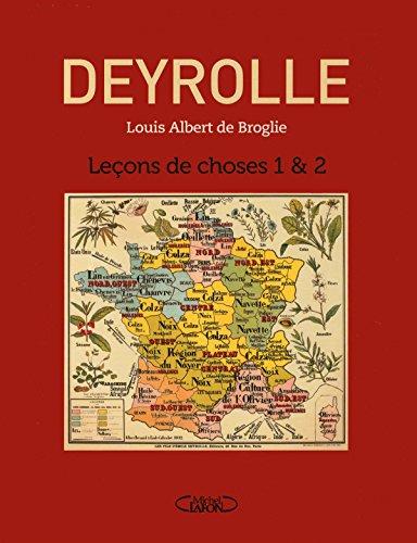 Leçons de choses 1 & 2 (LE COFFRET) par Deyrolle