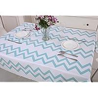 Vinylla - Mantel para mesa (PVC, fácil limpieza), diseño de huevo de pato, de hule., pvc, Square(55