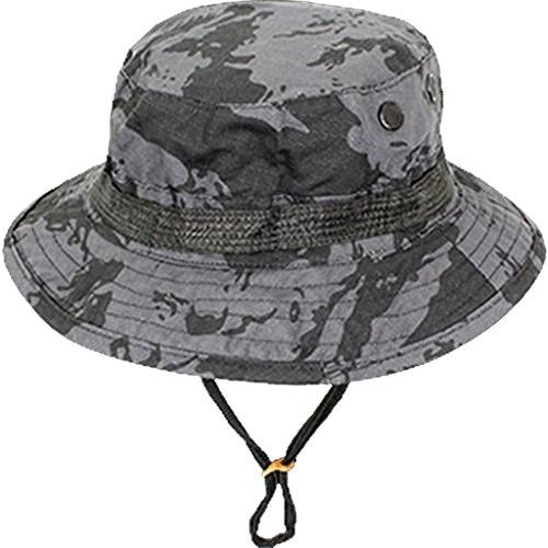 Commando Industries US Army Tropen Hut Boonie Hat Buschut Schlapphut in verschiedenen Farben und Größen (Russian Night Camo, S) (Hat Russian S Herren)