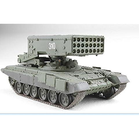 ModelCollect 1/72 UA-72001 Moderno russo T-90A principale Battle Tank (torretta saldata) - Secchio di metallo