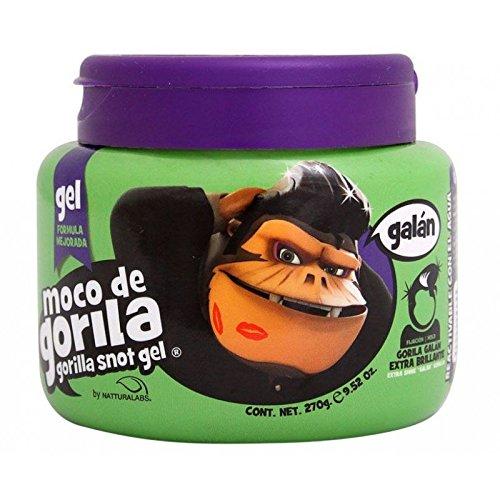Moco de Gorilla, Gel capelli, barattolo da 270ml, GALAN SOFT EXTRA BRILLANTE