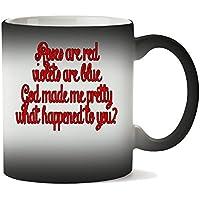 1GD God Made Pretty What Happened To You Funny Taza Calor Cambio De Color
