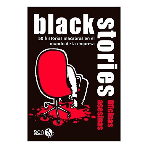 Black Stories Oficinas Asesinas, juego de mesa (Gen-X Games GEN044)