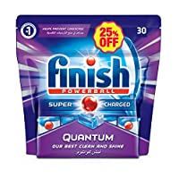 Finish Dishwasher Detergent Quantum, 30 Capsules