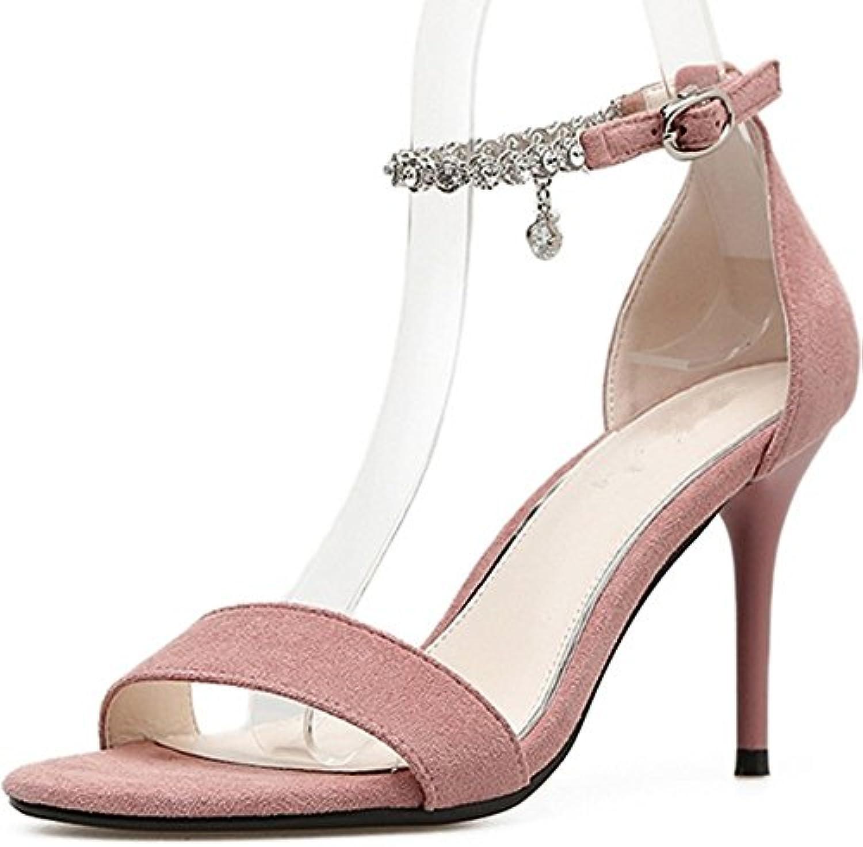 BAJIAN-LI Alta heelsdonna sandali estivi di Peep toe scarpe basse Ladies Flip Flop sandali scarpe | La Qualità Del Prodotto  | Maschio/Ragazze Scarpa