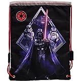 Star Wars Darth Vader Mochila Saco, Color Negro