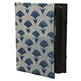 Jaipur Classic Cotton/Paper Bagru Print Case Cover for Kindle Paperwhite and Touch