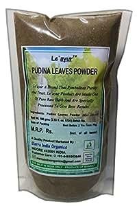 Le'ayur Pudina Patti (Mint Leaves) Powder 100 Gms