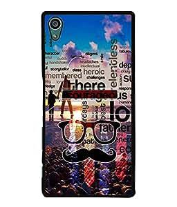 PrintVisa Designer Back Case Cover for Sony Xperia Z5 :: Sony Xperia Z5 Dual 23MP (Love Lovely Attitude Men Man Manly)