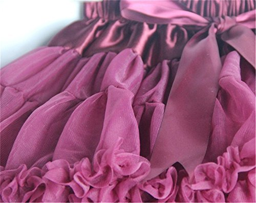 Storeofbaby Baby Little Girl's Solid Color Tutu Skirt Pleated Tulle Party Christmas Princess Dress