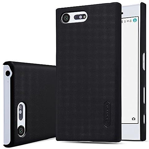 Sony Xperia X Compact coque, SMTR Etui Slim Armor Housse +1 film protecteur d'écran pour Sony Xperia X Compact Smartphone,(noir) - Precisione Compact