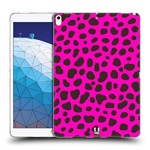 Head Case Designs Gepard Rosa Verrückte Drucke 2 Soft Gel Huelle kompatibel mit iPad Air (2019)