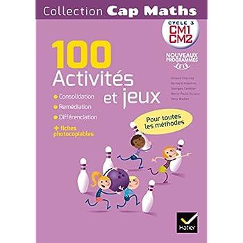 CAP Maths CM Éd. 2017 - Activités et jeux mathématiques - fiches photocopiables