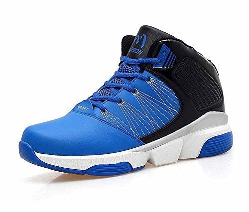 Hommes Chaussures De Basket-ball Respirant Nouvelles Chaussures De Sport Décontractées En Plein Air Haute Aide Chaussures De Formation Grande Taille