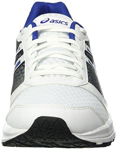 Asics Patriot 8, Chaussures de Sport Homme Multicolore (White/Asics Blue/Black)
