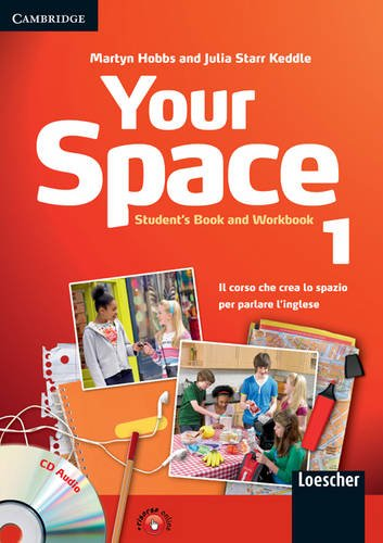 Your space. Student's book-Workbook. Per la Scuola media. Con CD Audio. Con espansione online: 1