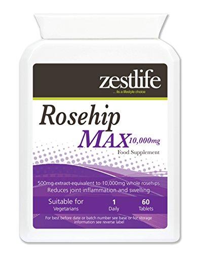 Rosa canina MAX 10000mg alto contenuto di vitamina