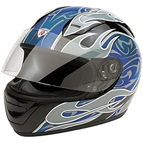 Bottari Casco Moto, Blu, XL - Casco Blu
