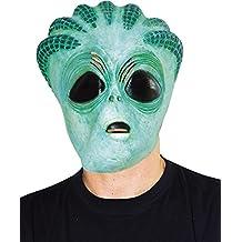Ciao 30663–Máscara Extraterrestre de látex, verde