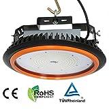 3er Anten 150W LED Industrial Kronleuchter UFO LED High Bay 22000LM 6000-6500K Kaltweiß Wasserdicht IP65 AC100-240V LED Hallenstrahler Hallenbeleuchtung Werkstattbeleuchtung Werkstattleuchte TUV-Zertifikat