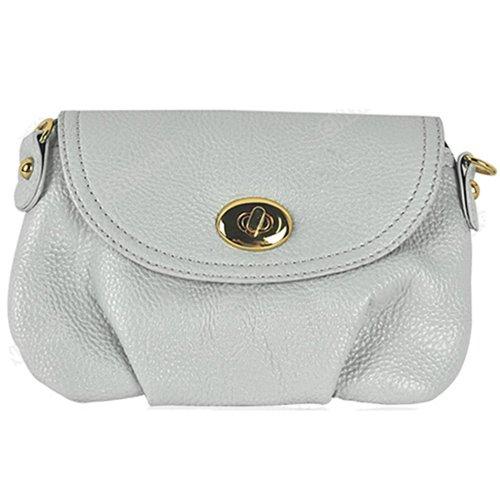 Sanwood Women'Damen Handtasche Weiß - Weiß