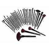 Jazooli Lot de brosse Cosmétique de maquillage kit–Lot de 32pièces