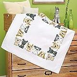 Kamaca Stickpackung Spaßige Haustiere Kreuzstich vorgezeichnet aus Baumwolle...