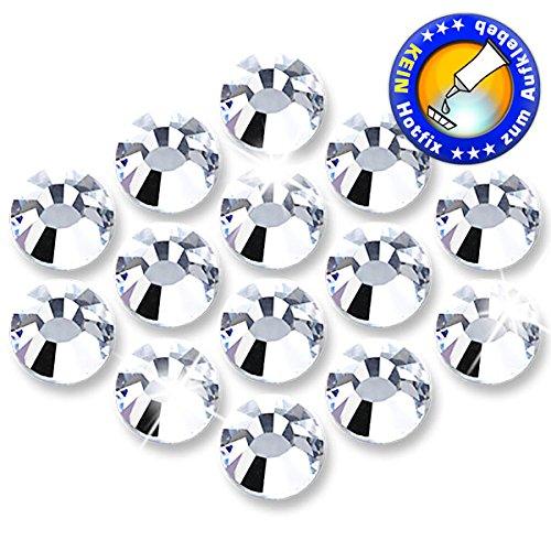Ss30 Crystal (25 Stück ShineStone DeLuxe Strasssteine - KEIN Hotfix - Crystal, SS30 (Ø ca. 6,3 mm), geschliffene Strasssteine zum Aufkleben)