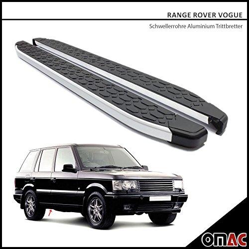 OMAC Range Rover Vogue Schwellerrohre ALU Trittbretter für Blackline (193) 1997-2002 Range Rover Vogue