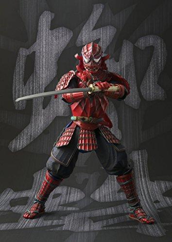 BANDAI MEISHO Manga Realization Samurai Spider Man Action Figure 8