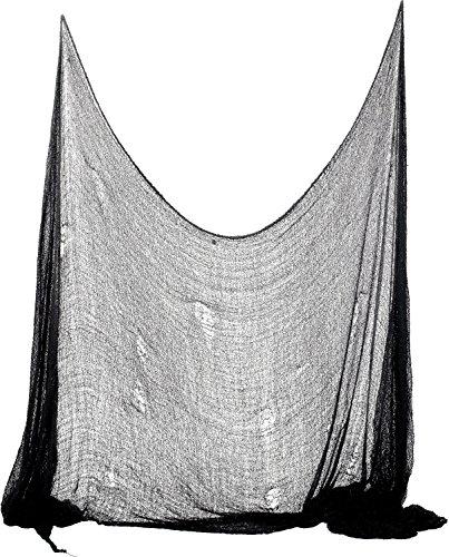 De Smiffy espeluznante de tela, 75 x 300 cm - Negro