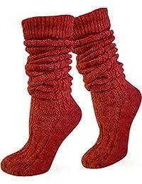 Zopfstrumpf elegant mit doppeltem Zopfmuster für Kniebundhosen und Trachtenkleidung