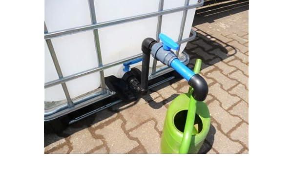 Hofer24 300l IBC Container auf Kunststoffpalette NEU