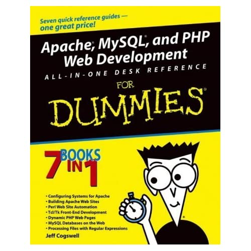Apache MySQL PHP Web Dvlpmnt AIO Dsk FD (For dummies) by Cogswell, Jeff (2003) Paperback