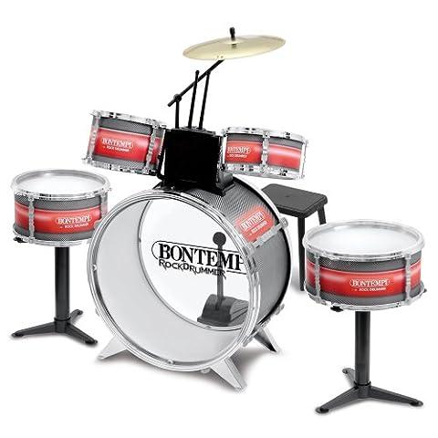 Bontempi- JD 4830 - Batterie rock drummer pour enfant
