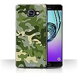 Coque de Stuff4 / Coque pour Samsung Galaxy A5 (2016) / Vert 1 Design / Armée/Camouflage Collection