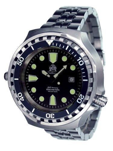 Tauchmeister 1937T0256M Armbanduhr, Armband aus Edelstahl