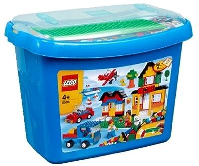 LEGO 5508 - Caja de bloques Deluxe [versión en inglés] de LEGO